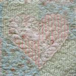 Heart QUilt block detail 18 150x150 Heart Quilt